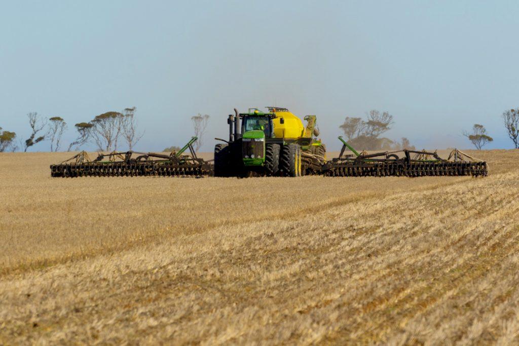 Churning up the land